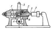 LEVER AND PLUNGER CLAMPING DEVICE FOR A CENTRE STOCK