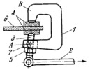 LEVER-TYPE SCREW-ACTUATED CLAMP